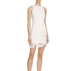 Aqua White Lace Dress Bloomingdale's